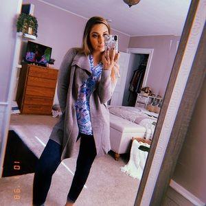 Rachel Zoe tan cardigan